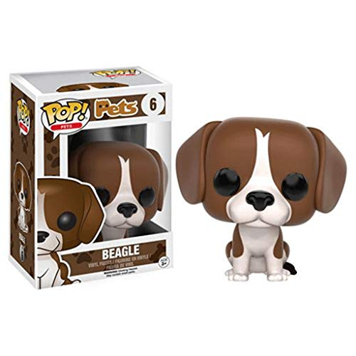 Funko Pop Pets : Beagle 3.75inch Vinyl Gift for Pet Fans SuperCollection