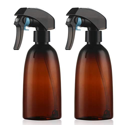 2 pezzi Vuoto Bottiglia Spray, Segbeauty 300 ml a 360 ° All-angolo di spruzzatura Ricaricabile Water Mist spruzzatore mister per Capelli Spray, Casa Flora, stireria, Pulizie