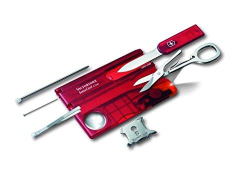 Victorinox SwissCard Lite Rouge Transparent
