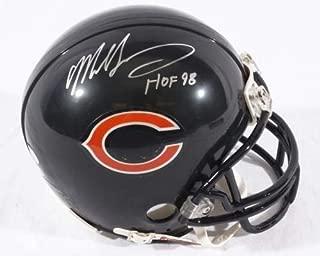 Mike Singletary Bears Football Autographed Mini-Helmet with Hall of Fame Inscription