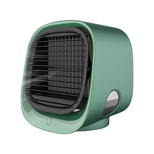YIHANK Mini-Lüfter Befeuchtung Kühlung Multifunktions-USB-Luftkühler Aircooler Ventilator