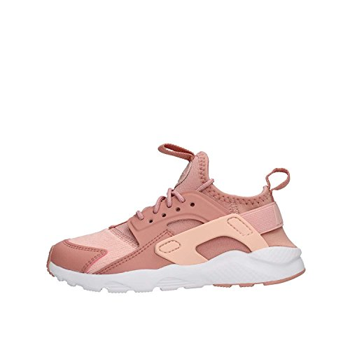 Nike Huarache Run Ultra Se (PS), Chaussures de Running Compétition Fille, Multicolore (Rust Pink/Storm Pink/White 600), 35 EU