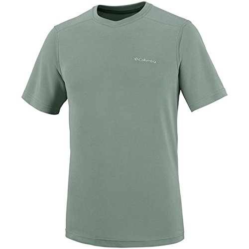 Columbia Sun Ridge Homme T-Shirt Manches Courtes, Cypress, FR (Taille Fabricant : XXL)