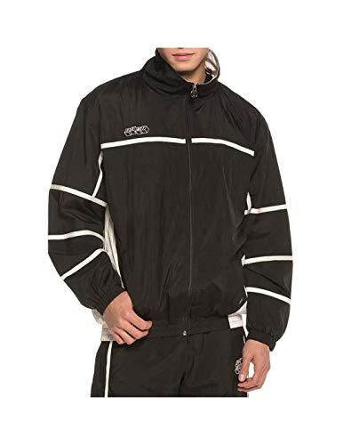 GRIMEY XS-Track Jacket Brick Top SS19 Black