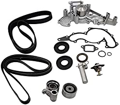 Timing Belt /& Water Pump W// Gasket Tensioner Kit for Toyota Tundra 4.7l V8