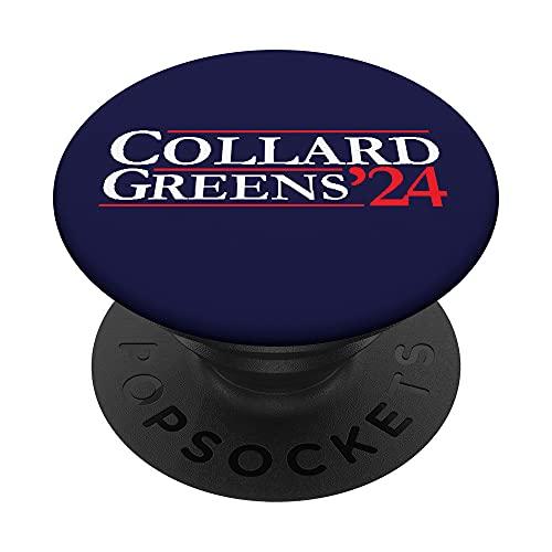 Novedad 2024 campaña electoral | '24 Collard Greens PopSockets PopGrip Intercambiable