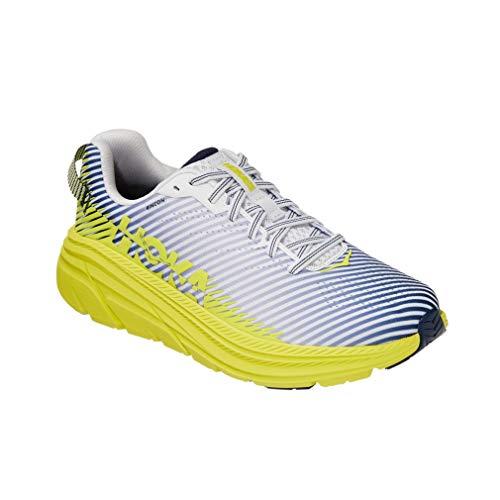 HOKA Rincón 2, Zapatillas de running para hombre, color Blanco, talla 45 1 3 EU