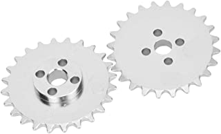 17 Teeth 3.72 Outer Diameter 50 Chain Size Zinc Plated 133781 Idler Sprockets: 1//2 Bore