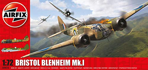 Airfix 1: 72 Scale Bristol Blenheim MKI Bomber Model Kit by Hornby Hobbies Ltd