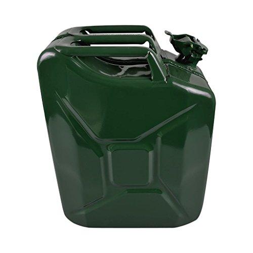 Jerrycan 20L métal vert
