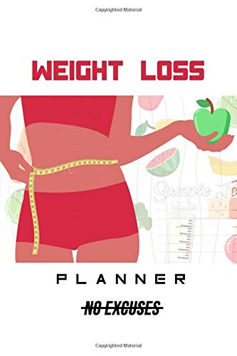 Weight loss tracker notebook: A New Diet Planner and Fitness Journal and motivational Quote for women's.