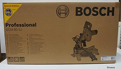 Bosch Troncatrice/Sega gehruns 80GCM SJ, 1pezzi, 0.601.b19.001