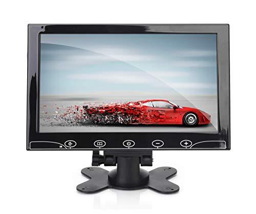 Pyle PLHR101 - Pantalla de Monitor de vídeo de Pantalla panorámica HD de 1080p con Entrada HDMI RCA BNC VGA para computadora DVR FPV CCTV CAM Vigilancia en casa Oficina Raspberry Pi Gaming