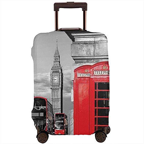 Portabagagli da viaggio London Cabina telefonica In strada Icona culturale locale tradizionale Inghilterra Regno Unito Retro Valigia Protector Taglia L