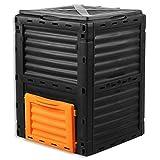 Fuxtec Composter da Giardino capacità 300L FX-KOMP300 Resistente alle...