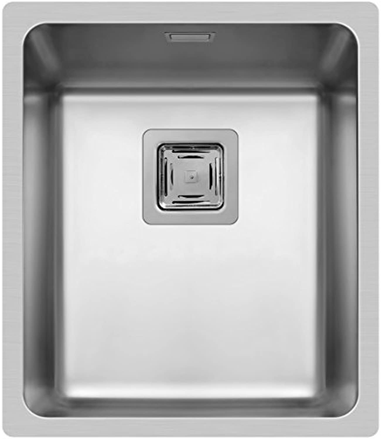 Flush-Mounted (17x40) 1B Inset Sink Polished Stainless Steel, 101023601