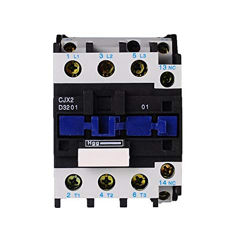 TRIPERSON CJX2-3201 AC Distribution Electrical Contactor 12V 50Hz Coil 32A 3-Phase 3-Pole 1NC