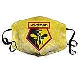 YeeATZ The Watford - Funda transpirable para la boca del viento Watford Fc 4 Talla única