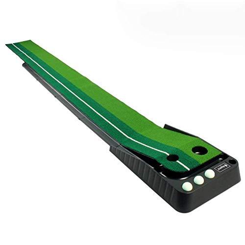 DSLINA Golf Interior Putting Trainer/Juego De Práctica De Golf/Empujar Estera De Ejercicios De Lanzamiento Pad/Portable Golf Driving Range Mat