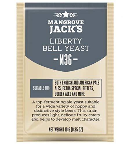 Mangrove Jack's Manualidades Serie Levadura M36 Liberty Campanula Ale 10g)