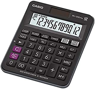 كاسيو الة حاسبة عملية من 12خانة، MJ-120D