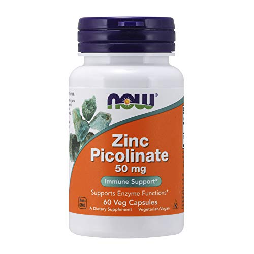 Now Zink Picolinaat 50 Mg, 60 Stuk, 60 Capsules