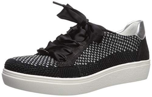 ARA Women's Natalya Shoe, Black Woven, 5 W UK (7.5 US)