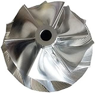 GENERIC RHF5HB 6+6 blades 46.50/59.94mm turbo Billet/milling/aluminum 2618 compressor wheel for VF30/VF34/VF35/VF36/VF37/VF39/VF41/VF42/VF43/VF48/VF52