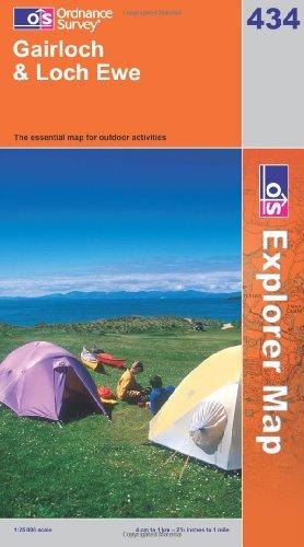 OS Explorer map 434 : Gairloch & Loch Ewe