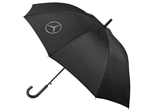 Mercedes-Benz Stockschirm schwarz Polyester / Stahl