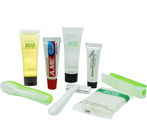 ECO Amenities All-in-Kit Travel Toiletries Bag