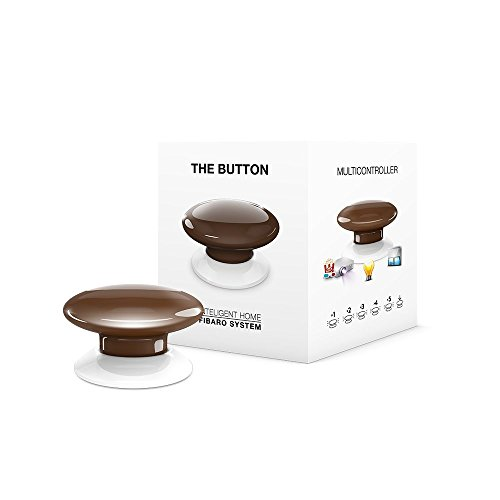 FIBARO FIBEFGPB-101-7 Brown The Button, 3,6 V, bruin