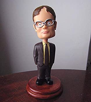 Cleaky Dwight Schrute Bobblehead for Dunder Mifflin The Office Merchandise Replica for Office Fans Present  01