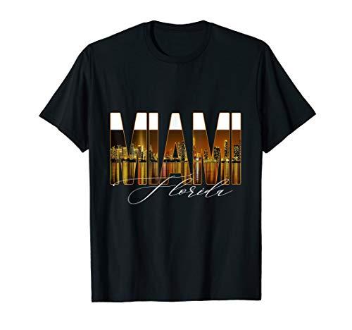 Miami City Skyline T-Shirt