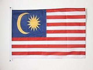 MALAYSIA FLAG 2' x 3' 户外* - MALAYSIAN FLAGS 90 x 60 cm - 竹条 2x3 ft 针织涤纶带环 - AZ FLAG