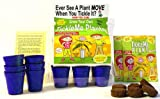 TickleMe Plant Greenhouse Garden Kit with Science Activity Card (Grow The Only House Plant That Closes Its...