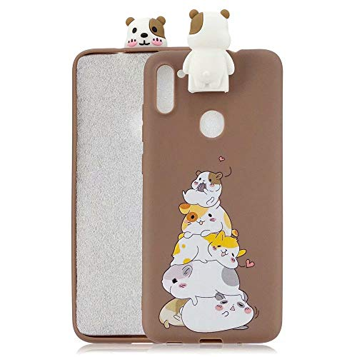FlipBird Galaxy A11 Case for Boys,Cartoon Soft Silicone Cute 3D Protective Phone Case Cover for Teens Girls Women Kids for Samsung Galaxy A11 with Stand