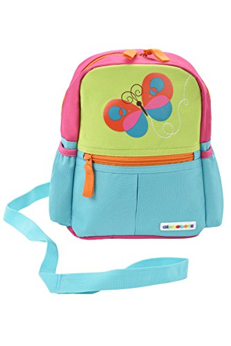 Product Image of the Alphabetz Butterfly Toddler Backpack with Leash, Safety Harness, for Girl
