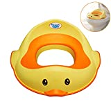Arkmiido Potty Training Seat for Kids Toddlers, Boys Girls Toilet Training (Yellow)