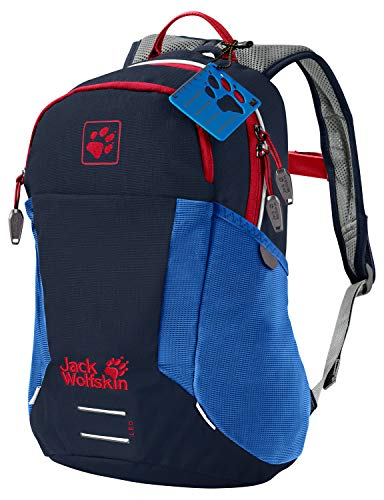 Jack Wolfskin Kinder Kids Moab Jam Rucksack, Night Blue, ONE Size