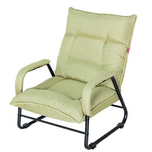 Baby GOUO@ Canapé Paresseux TV Fauteuil d'alimentation Allaitement Chaise d'allaitement Japonais Pliant Inclinable Chambre Simple Petit Canapé