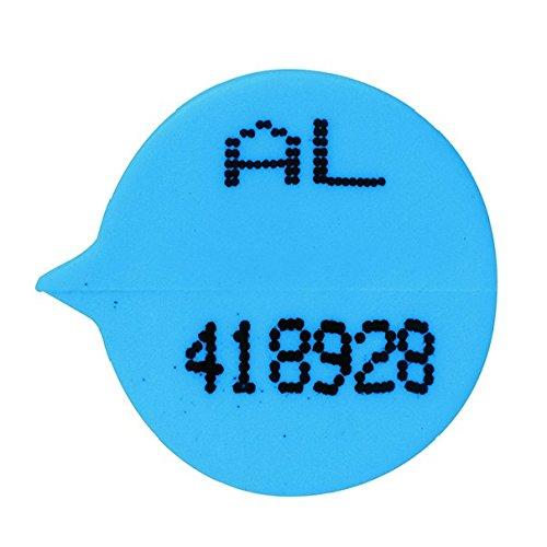 gosecure val06850S3B nummeriert rund Wellendichtring, blau (500Stück)