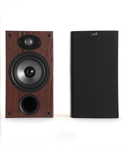 Polk Audio TSx 220B Bookshelf Speaker - Cherry (Pack of 2)