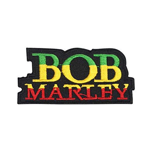 Parche de Bob Marley para planchar o coser o bordar