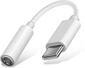 COOYA USB C to 3.5mm Adapter for OnePlus 7T USB C Headphone Jack Adapter DAC Chip Pixel 4 XL Audio Adapter USB C to Aux Auxiliary Adaptor for Google Pixel 2XL 3 4, OnePlus 7T Pro 7 Pro, iPad Pro 11