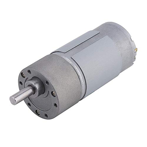 12V 24V Motor Eléctrico de Grande Esfuerzo de Torsión de DC 15W de Velocidad Lenta y Poco Ruido con Engranaje(12V 200r/min)