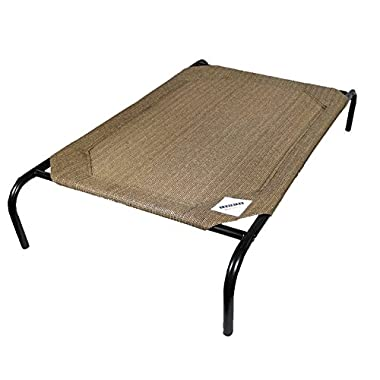 Coolaroo The Original Elevated Pet Bed By Medium Nutmeg