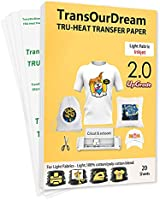 Deal on Iron on Heat Transfer Paper for T Shirts