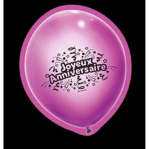 Aptafêtes- Ballons, BA21604, Multi, 21X10.5cm