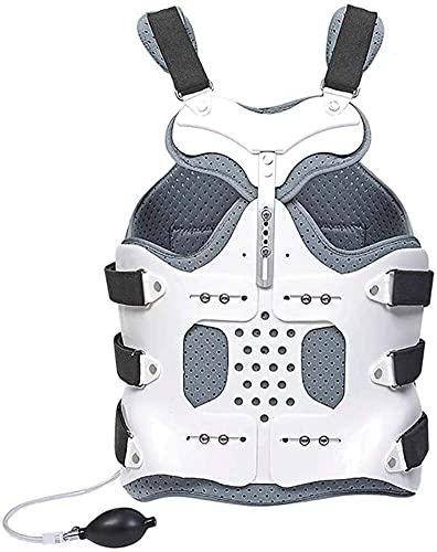Bolso de la cintura Pista espinal toracolumbar fijada, ortesis de la columna lumbar, escoliosis Corrector de postura Piel ajustable Compresión lumbar de compresión lumacolumbar Fractura de la fractura